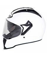 Универсальный первоклассный шлем SUOMY CASCO MX TOURER PLAIN WHITE