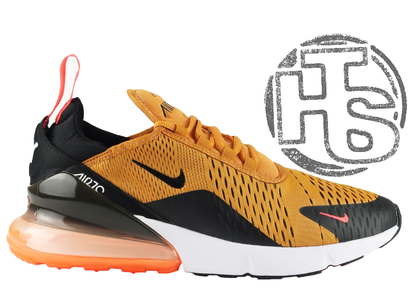 Мужские Кроссовки Nike Air Max 270 Flyknit Yellow Black Red AH8050 ... a646e65c75