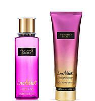 Набор Love Addict Victoria's Secret спрей 250 мл и лосьон 236 мл