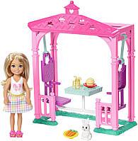Набор Барби Челси Пикник у беседки Barbie Club Chelsea Picnic Doll & Playset