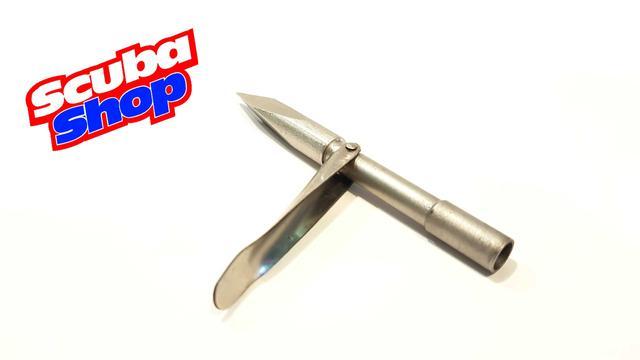 Наконечник Verus трехгранник с лепестком для подводных ружей