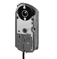 Привод Siemens GMA161.1E (24 В) с аналоговым управлением и встроенной возвратной пружиной для заслонки 1,5 м²