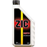 Тормозная жидкость ZIC Super Brake Fluid DOT 4 0.5л