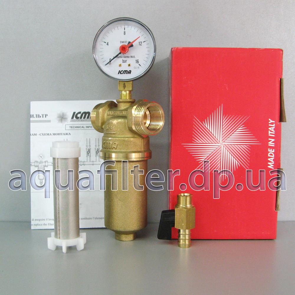 """Самопромывной фильтр для воды ICMA 750 3/4"""""""