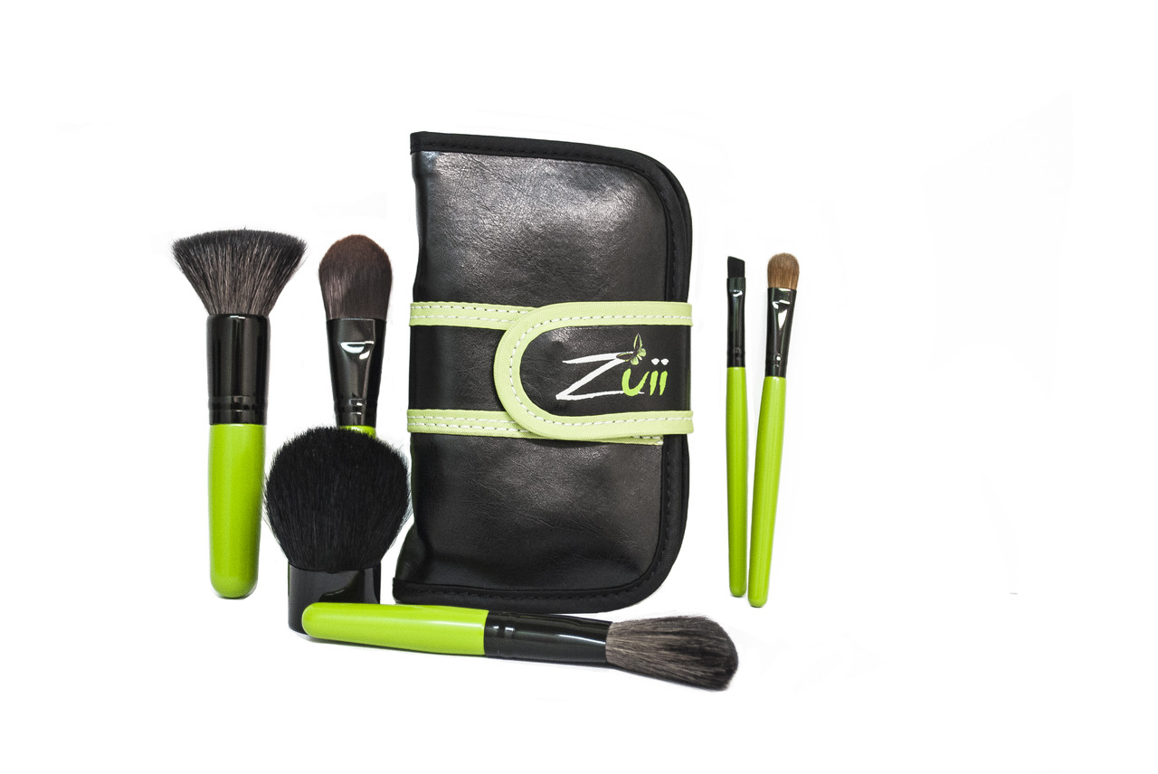 Набор кистей для макияжа Zuii Organic