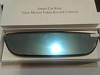 "Умное зеркало Android регистратор камера заднего вида 6.86"" HD-T515 8MP, GPS трекер, 3G, Wifi, FM модулятор"