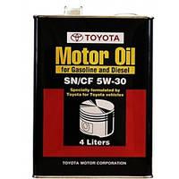 Моторное масло Toyota Motor Oil SN/CF 5W-30 1л