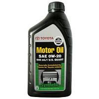 Моторное масло Toyota Motor Oil 0W-20 0.946л