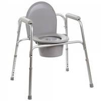 Алюминиевый стул-туалет 3в1 OSD-YU-2109A, Стул-туалет для инвалидов