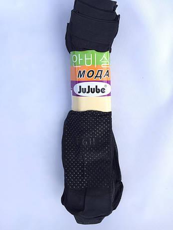 Носки капроновые с тормозками JuJube Черные, фото 2