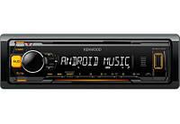 Автомагнитола Kenwood KMM-103AY 1DIN без CD-привода с USB