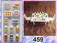 Набор мини-посуды (аксессуары для кукол)