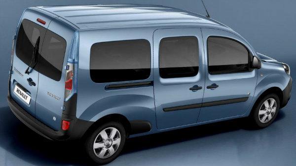 Передний салон, правое окно на автомобиль Renault Kangoo 08-