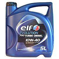 Моторное масло ELF EVOLUTION 700 TURBO D 10w40 1л