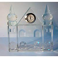 Статуэтка хрустальная Дворец с часами