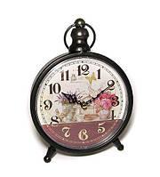 Настольные часы в стиле ретро Цветы