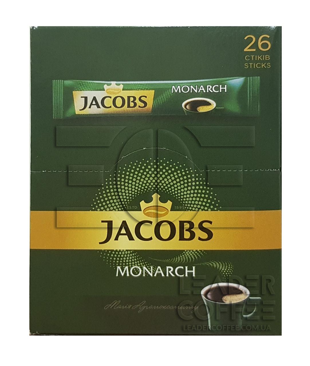 Кофе Jacobs Monarch в стиках 2г(якобс монарх стик 2г)
