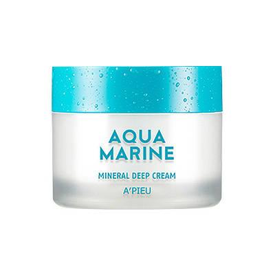 Увлажняющий минеральный крем A'PIEU Aqua Marine Mineral Cream, 50ml