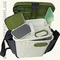 Ящик зимний рыболовный с мягкими карманами