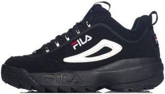 Мужские кроссовки Fila Black (люкс копия)