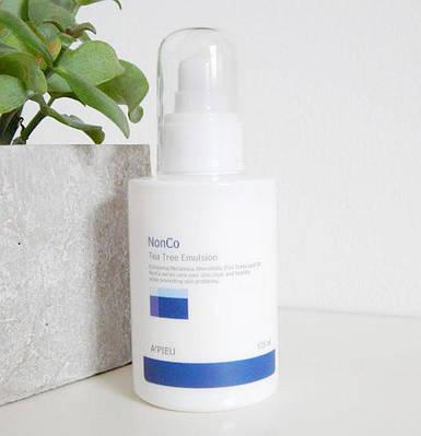 Эмульсия для проблемной кожи с маслом Чайного Дерева A'PIEU Nonco Tea Tree Emulsion, 125ml