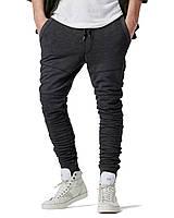 Теплые спортивные брюки зауженные до колен