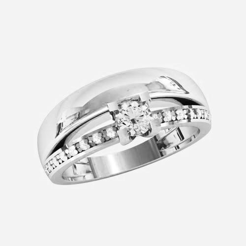 Кольцо  женское серебряное Татьяна КЕ-1534