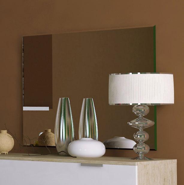 Дзеркало на стіну з ДСП/МДФ у вітальню спальню Верона 900х600 Миро-Марк