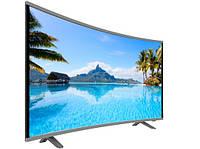 """Телевизор LED JPE 32"""" 'DU1000 HD, T2, с изогнутым экраном WiFi, 1Gb ОЗУ"""