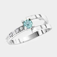 Кольцо  женское серебряное Марина KE-1492