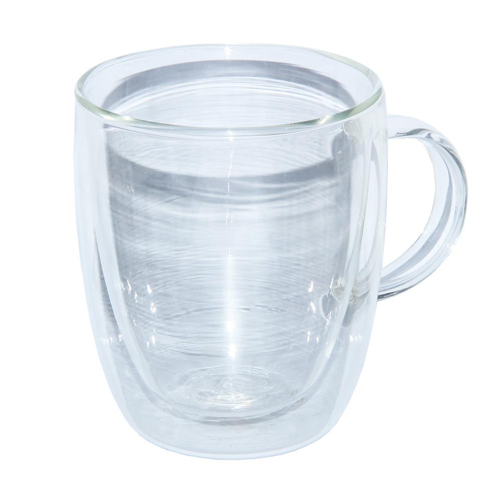 Чашка стеклянная с двойными стенками Биг-Бен 400 мл.