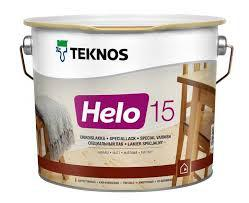 Лак паркетный TEKNOS helo 15 0.9 л. (матовый) Текнос хело 15
