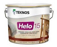 TEKNOS helo 15 0.9 л. (прозорий) Лак с матовым блеском.