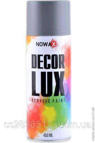 Краска NOWAX DECOR LUX 7000 серый  450ml