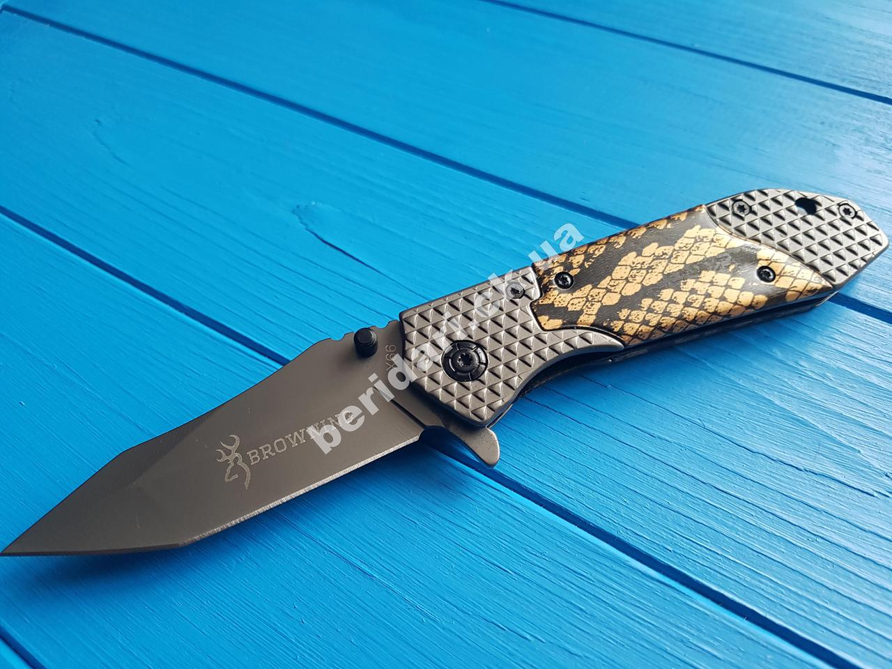 Нож туристический  складной Browning  кобра