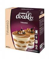 Сухая смесь для приготовления десерта Тирамису  Nestle docello, 2 х 400 гр