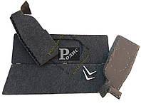 Акустическая полка ВАЗ 2108, 2109, 2113, 2114 с боковинами (липучка) в карпете с подиумами из фанеры