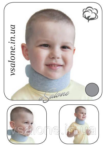Бандаж на шийний відділ хребта Комір Шанца дитячий Алком 3006К розмір 1,2,3