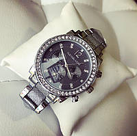 Женские элегантные часы с черным циферблатом