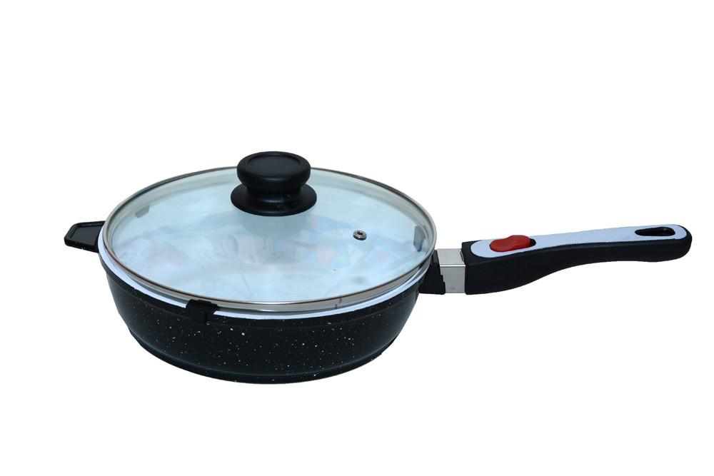 Сковорода с керамическим покрытием Giakoma 24 см G-1032-24 White