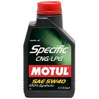Моторное масло Motul Specific CNG/LPG 5W-40 5л