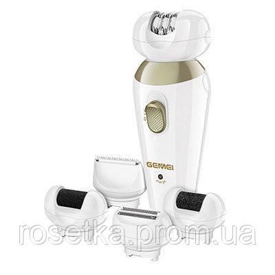Женский эпилятор со сменными насадкамиGemei ProfessionalGM 7005 5 в 1, фото 1