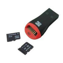 USB MicroSD кардридер