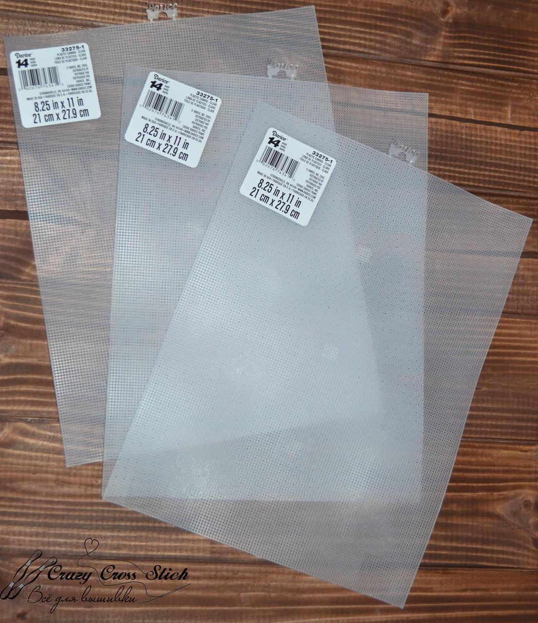 Пластиковая канва Darice (США) 14 прозрачная