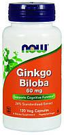 Now Ginkgo Biloba 60mg 120 сaps