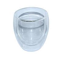 """Пиала стеклянная с двойными стенками """"Любимый чай"""" 150 мл."""