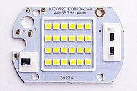 LED матрица 50W, 6000K+IC драйвер 220V
