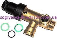 Клапан трехходовой латунный в сборе с приводом (фир.уп) VaillantTurboMax, AtmoMax, арт. 252457, к.з.0185, фото 1