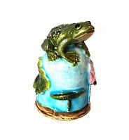 Наперсток сувенир Лягушка
