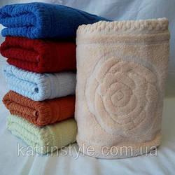 Банные полотенца Цветок 2 (6 шт)